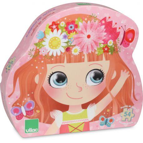 Puzzle Princesse des fleurs - boite