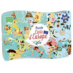 Puzzle Carte d'Europe 300 pièces - boite