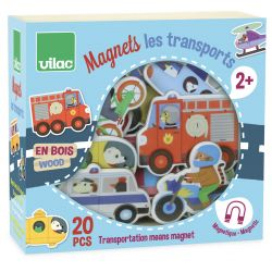 Magnets Les transports - coffret
