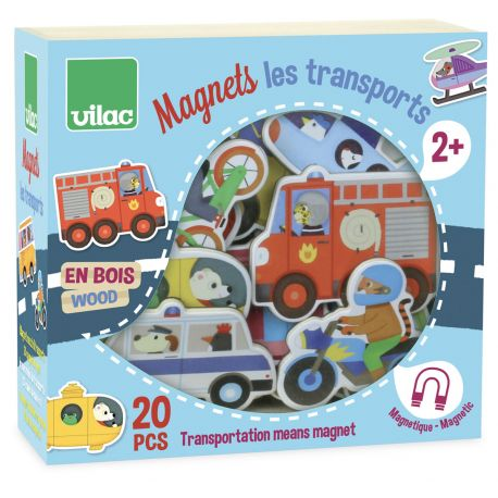 Magnets Les transports - coffret