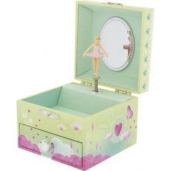 Boîte à bijoux musicale Papillon