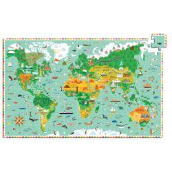 Tour du monde 200 pièces + livret