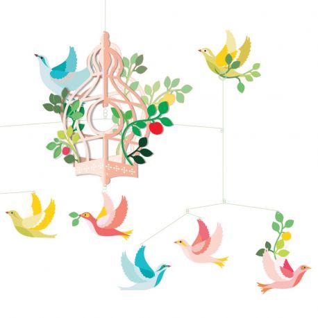 Mobile Cage aux oiseaux