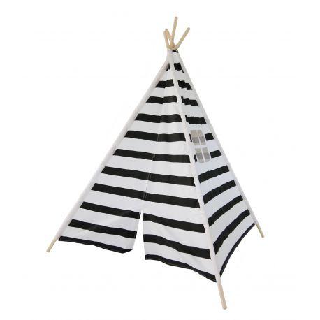 Tipi Zebra Noir et blanc