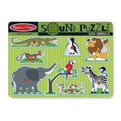 puzzle sonore animaix du zoo