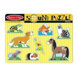puzzle sonore animaux domestiques