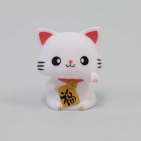 Veilleuse Chat porte bonheur