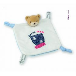 Doudou ourson Kaloo Team - Blue Denim