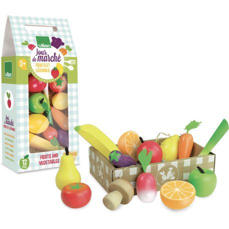 Set de fruits et légumes