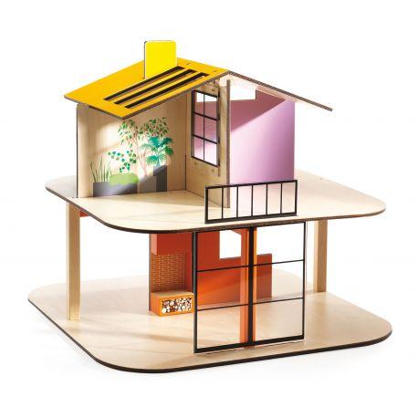 Color House - Maison de poupées Djeco