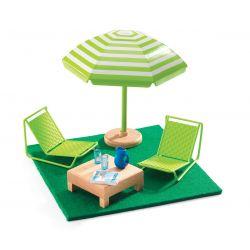 La terrasse - Mobilier maison de poupées Djeco