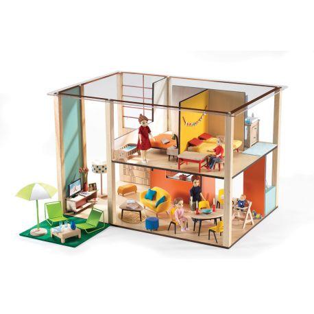 Cubic House et mobilier (photo non contractuelle)