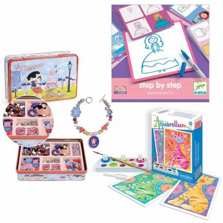 pack loisirs créatifs 5 ans - jeune créatrice