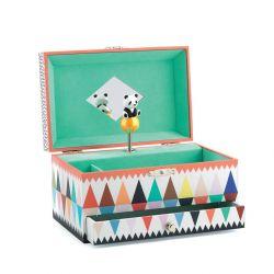 Boîte à bijoux musicale La chanson du Panda