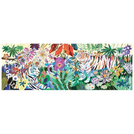 Rainbow tigers Puzzle Djeco - 1000 pièces