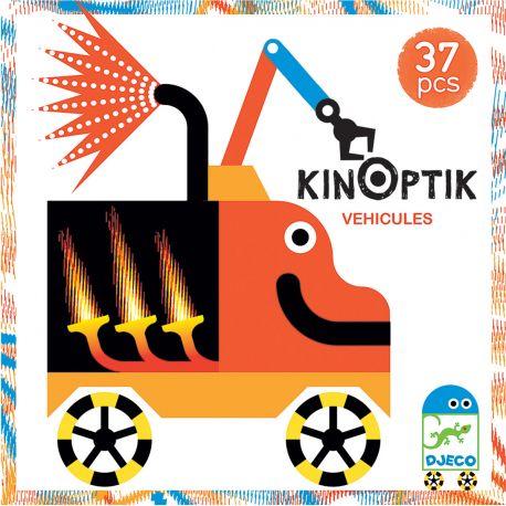 Kinoptik Véhicules jeu de construction Djeco