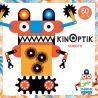 Kinoptik Robots Djeco - plateau et pièces magnétiques