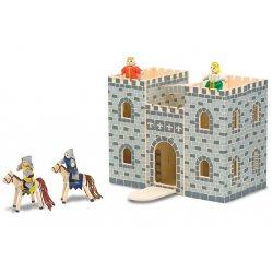 Château fort en bois pliable Melissa et Doug