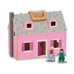 Maison de poupée pliable et transportable