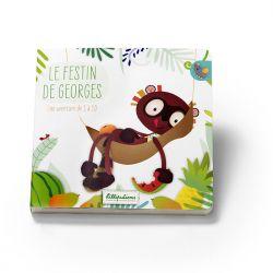 Le festin de Georges - Couverture