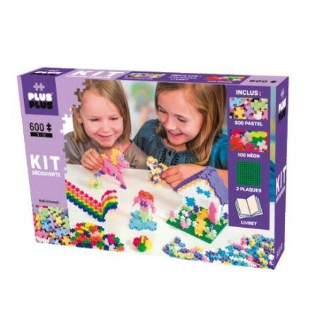 Plus plus Kit découverte 600 pièces
