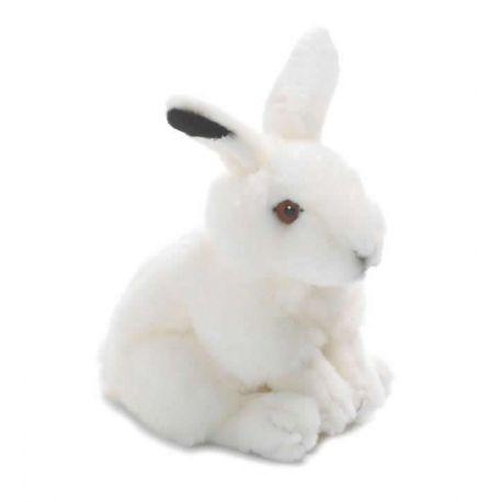 Peluche Lapin des neiges 19 cm