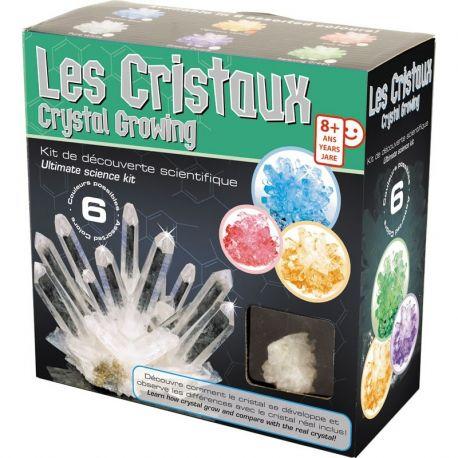 kit scientifique créer des cristaux