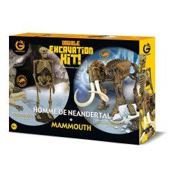 Kit de fouille homme de néandertal