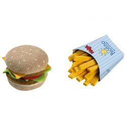 Dinette Hamburger avec frites