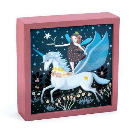 Veilleuse magique Djeco Licorne féerique de nuit