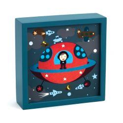 Veilleuse magique Djeco Polo space de nuit