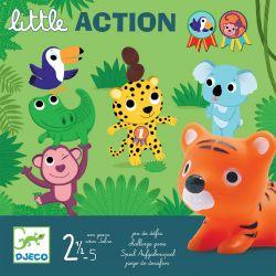 Little action - jeux de défis pour les 2/5 ans