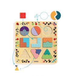 Puzzle formes et couleurs Ludigraphic