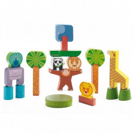 Stacky jungle - jouet de construction Djeco