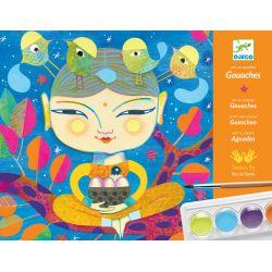 Coffret de peinture India - Loisir créatif Djeco