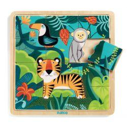 Puzzle 3 ans Jungle 15 pièces