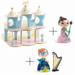 Pack Ze princesses Castle + 2 princesses