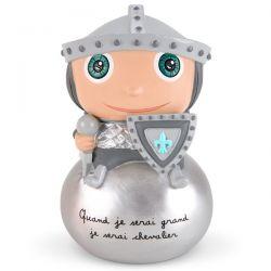 Tirelire Quand je serai grand je serai chevalier