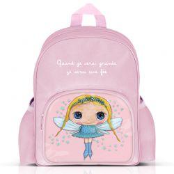 Grand sac à dos avec poches fée