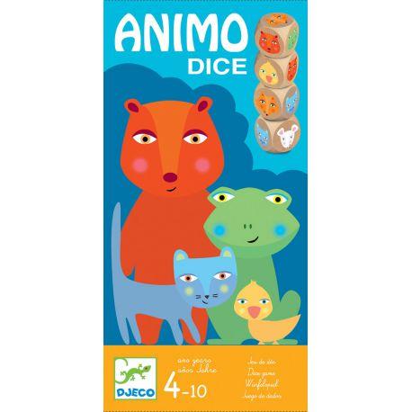 Animo Dices - jeu de dés de 4 à 10 ans