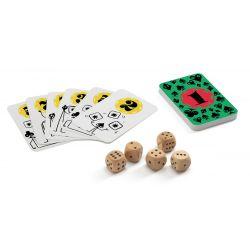 Poker dice - jeu de dés et de cartes