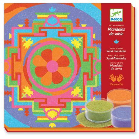 Mandalas tibétains - Sables colorés