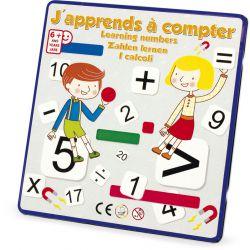 Magnet chiffres pour apprendre à compter