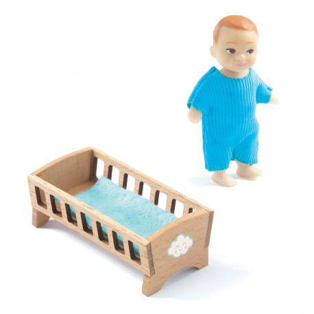 Bébé Sacha - Poupées Djeco