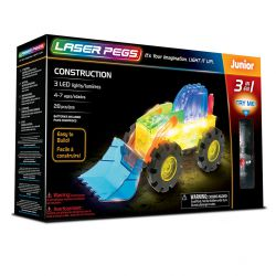 Laser Pegs 3 en 1 Construction