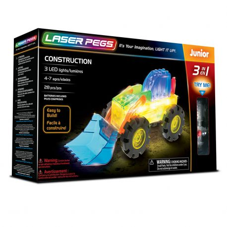 Laser Pegs 3 en 1 Construction