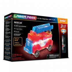 Laser Pegs 3 en 1 Véhicules de secours