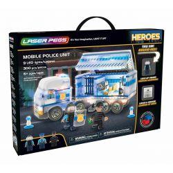 Unité de police mobile Laser Pegs Heroes