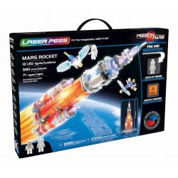 Mars Rocket Laser Pegs
