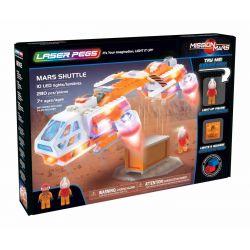 Mars Shuttle Laser Pegs